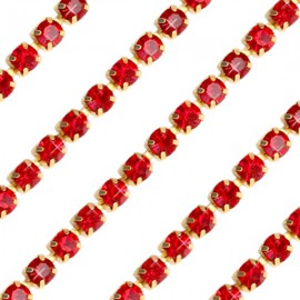Cupchain G - 3mm Siam Red