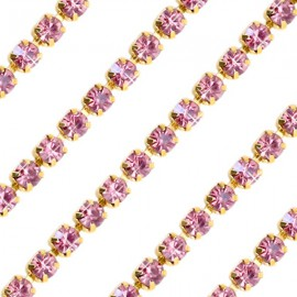 Cupchain G - 3mm Antique Rose