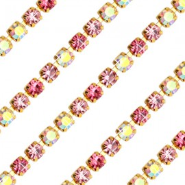 Cupchain G - 3mm Pink Mix