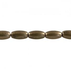 Metaal Ovaal 7,5x4mm Brons