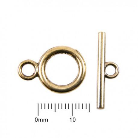 Kapittelslotje 14mm Antiek Goud
