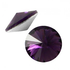 LC Rivoli 12mm Dark Amethyst