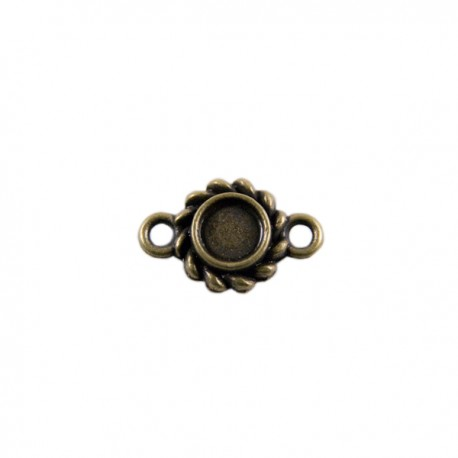Tussenzetsel Kastje Klassiek 12mm Brons