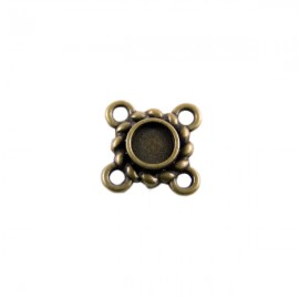 Tussenzetsel Kastje Klassiek 11mm Brons