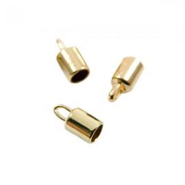 Eindkap Goud 14mm
