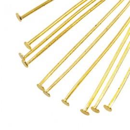Nietstift 30mm Goud