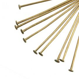 Nietstift 30mm Brons