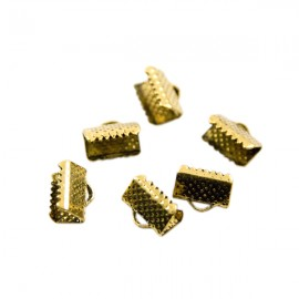 Lintklem 10mm Antiek Goud
