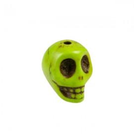Doodshoofd kraal 12mm Groen