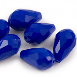 Facetkraal Druppel Kobaltblauw