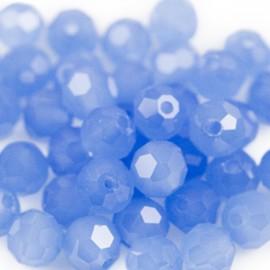 Facet Rond 6mm Air Blue Opal