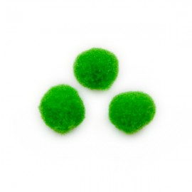 Pompon 10mm Grasgroen