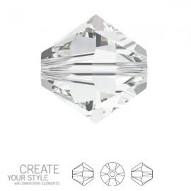 Swarovski 5328 Bicone 4mm Crystal
