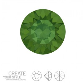 Swarovski Roundstones Xirius PP14, 2mm Palace Green Opal