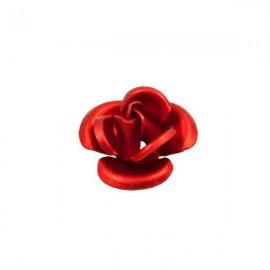 Roosje Metaal 12mm Rood