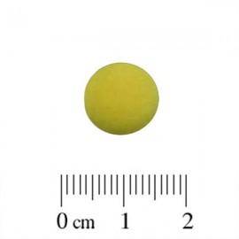 Polaris Cabochon Rond 12mm Matte Olivine