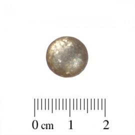Polaris Cabochon Rond 12mm Paipolas Matte Greige