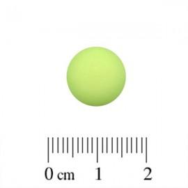 Polaris Cabochon Rond 12mm Matte Peridot