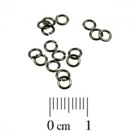 Montagering 4mm Zwart